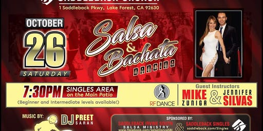Salsa and Bachata Social and Lesson at Saddleback Lake Forest