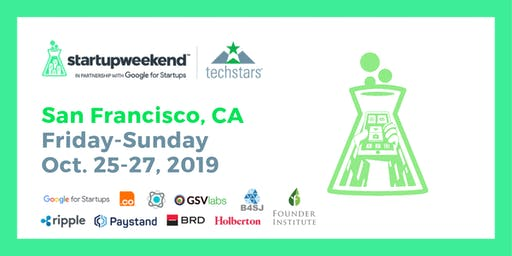 Techstars Startup Weekend San Francisco - Blockchain for Good