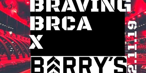Barry's Bootcamp X Braving BRCA