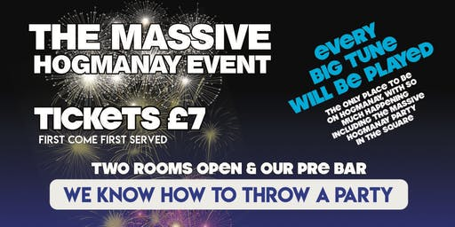 Hogmanay at Industry