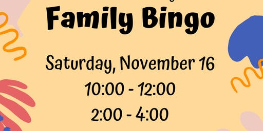 Central Primary's Family Bingo Sesson 2