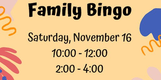 Central Primary's Family Bingo Session 1