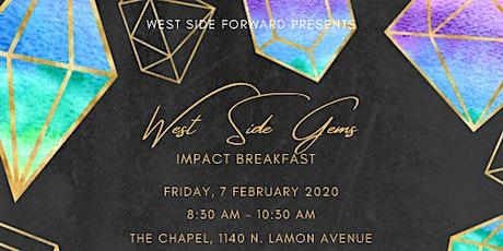 West Side Forward Gems Breakfast tickets