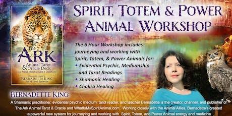 Spirit, Totem & Power Animal Workshop tickets