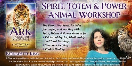 Spirit, Totem & Power Animal Workshop