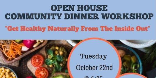 Community Dinner At Nurture Wellbeing