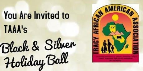 TAAA Black & Silver Christmas Ball tickets