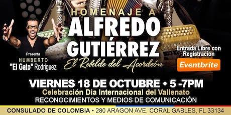 Inauguración IV Festival Vallenato USA-Homenaje Alfredo Gutiérrez tickets