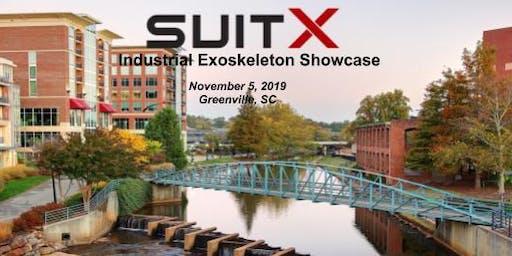 suitX Industrial Exoskeleton Showcase
