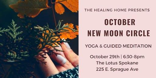 October New Moon Circle