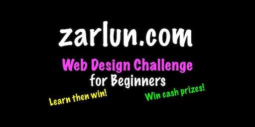 Web Design Course and Challenge - CASH Prizes Boston EB