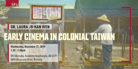 Early Cinema in Colonial Taiwan tickets