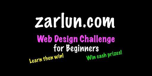 Web Design Course and Challenge - CASH Prizes Hampton EB
