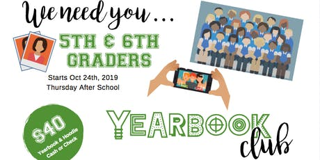 Yearbook Club 2019-20 tickets