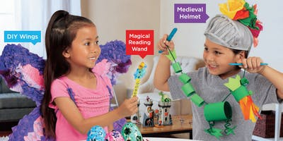 Lakeshore's Free Crafts for Kids World of Fantasy Saturdays in November (Dallas)