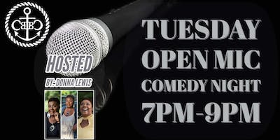 Tuesday Open Mic Comedy Night!