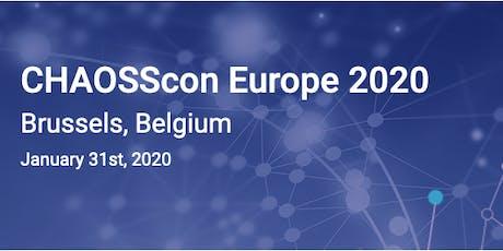 CHAOSScon Europe 2020 billets