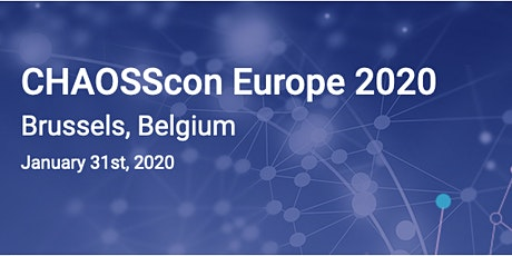 CHAOSScon Europe 2020 billets