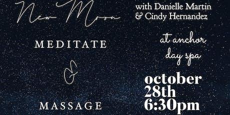 Meditate and Massage tickets
