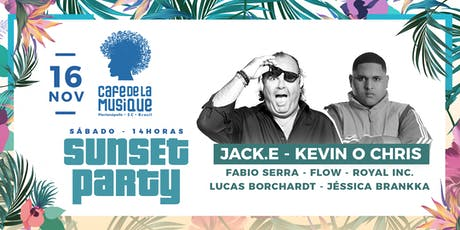 Sunset Party  16/11 - Café de La Musique Floripa ingressos