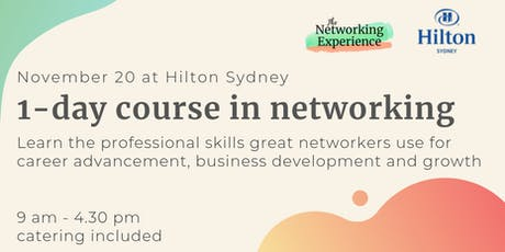 1-Day Course in Networking Skills tickets
