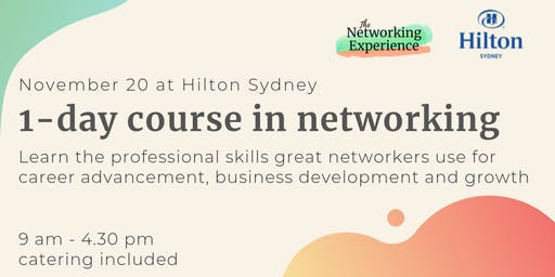 1-Day Course in Networking Skills