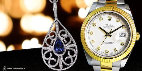 Surrey, BC – 10.20.2019 1pm - Jewellery & Swiss Watch Auction tickets