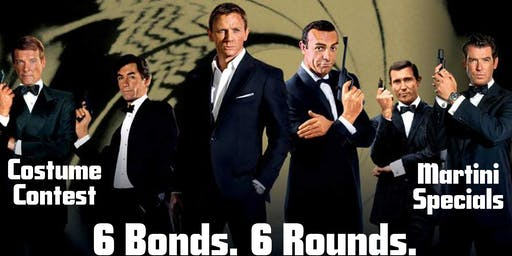 007 Trivia Event - 6 Rounds. 6 Bonds.