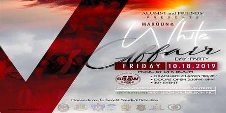Homecoming: Maroon and White Affair by Alumni and Friends tickets
