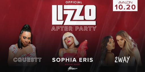 OFFICIAL LIZZO AFTER PARTY