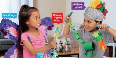 Lakeshore's Free Crafts for Kids World of Fantasy Saturdays in November (East Brunswick)