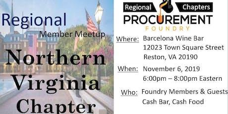 Northern Viginia Member Meetup November -2019 tickets