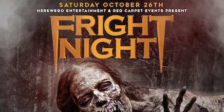 FRIGHT NIGHT (Metropolitan's Annual Haunted Halloween Bash)  tickets