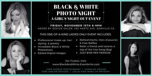 Black & White Photo Night: A Girls Night Out Event