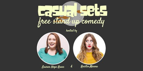 Casual Sets: Free Stand Up Comedy! tickets