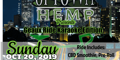 Uptown Hemp Presents: Geaux Ride Bikes Karaoke Edition