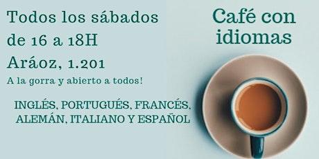 Café con Idiomas entradas