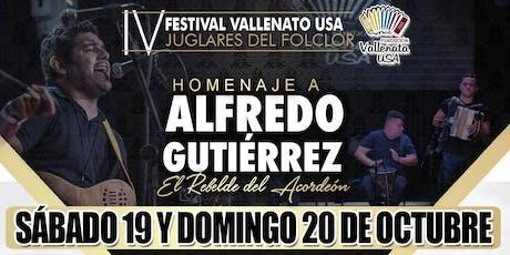 1ra Ronda Concursos IV Festival Vallenato USA (Acordeon, Canción Inédita) billets