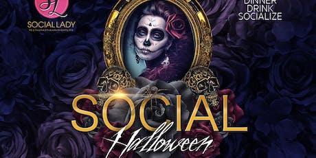 SOCIAL HALLOWEEN tickets