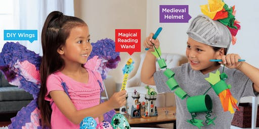 Lakeshore's Free Crafts for Kids World of Fantasy Saturdays in November (Bellevue)