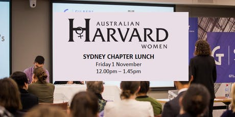 Australian Harvard Women | Lunch with Lyn Lewis-Smith - Sydney tickets