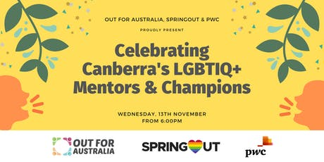 ACT: Celebrating Canberra's Lgbtiq+ Mentors and Champions tickets