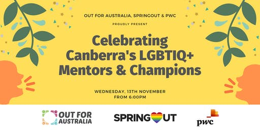 ACT: Celebrating Canberra's Lgbtiq+ Mentors and Champions