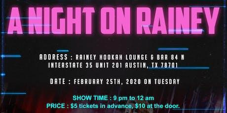 A Night On Rainey tickets