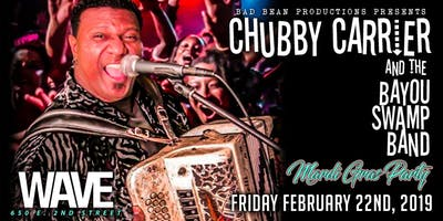 Chubby Carrier & the Bayou Swamp Band's Mardi Gras Party