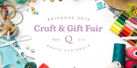 Brisbane Craft and Gift Fair tickets