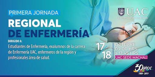 PRIMERA JORNADA REGIONAL DE ENFERMERÍA