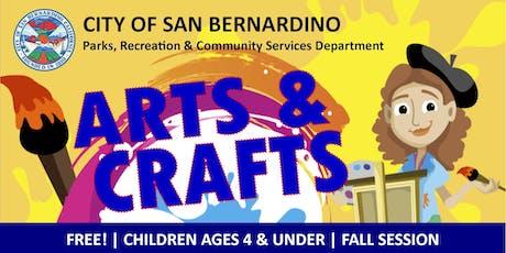 WINTER #1: Arts & Crafts for 4 & Under tickets