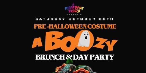 BOOzy Brunch | Costume Brunch & Day Party