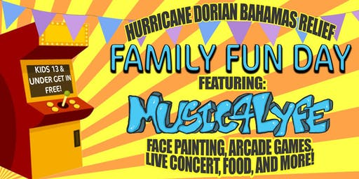 Hurricane Dorian Bahamas Relief Family Day Benefit